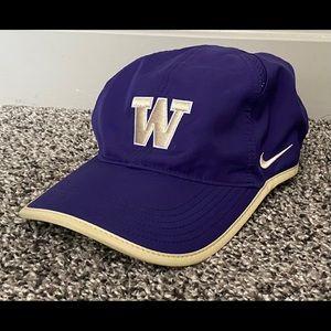 Nike Washington Huskies Purple Gold Dri Fit Hat